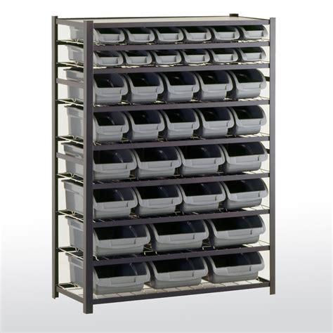 Bin Storage Unit by Sandusky Cabinets Ur4416bin36 Bin Shelving Unit 36