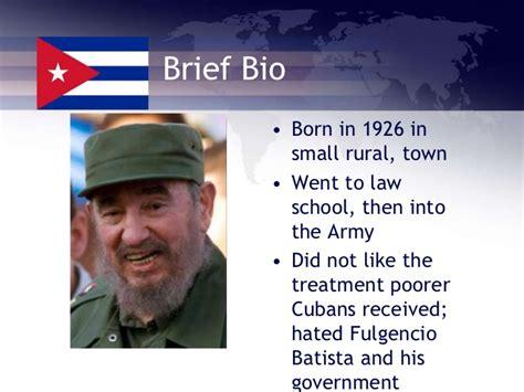 biography fidel castro fidel castro notes