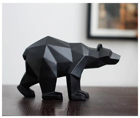 black panther sculpture contemporary home trisources aliexpress com buy black panther sculpture geometric