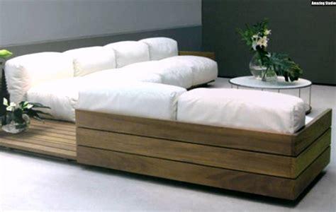 sofa aus paletten schicke designer holz paletten m 246 bel sofa