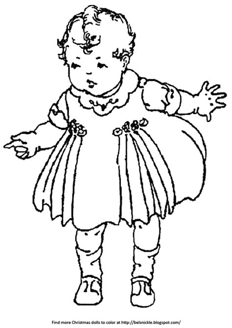 Vintage Baby Coloring Pages | coloring pictures of vintage baby dolls belznickle