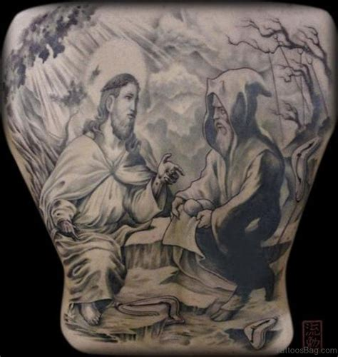 temptation tattoo 42 black and grey tattoos for back