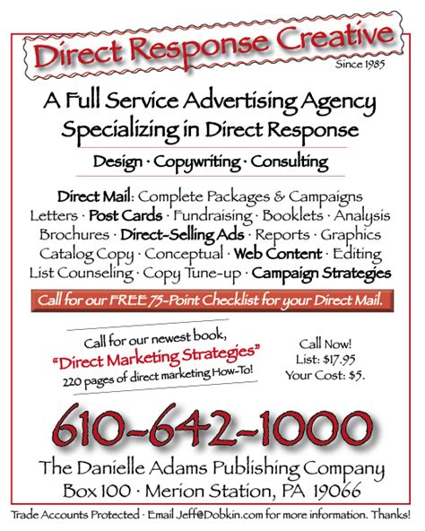 direct lines books insurance sales letters how to write highly responsive