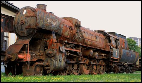 Rusty Locomotive By Easwee On Deviantart
