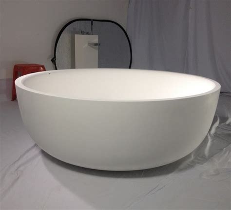 round bathtub round artificial stone bathtub round stone resin bathtubs