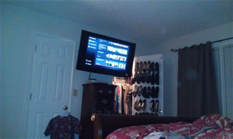 cromwell ct samsung led tv mounted on wall in bedroom