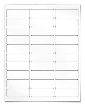 Avery Labels 8160 Template by Address Labels Our Wl 875 Same Size As Avery 174 5160 8160