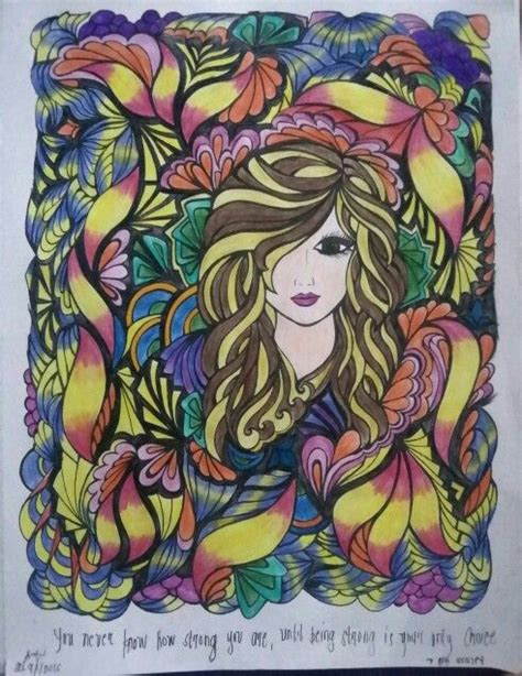 coloring pages for adults finished creative haven fanciful faces something inspirational