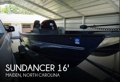 bass cat boat dealers in north carolina for sale used 2014 sundancer 160 pole cat in maiden north