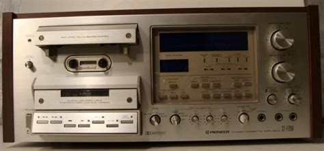 pioneer tv deck pioneer cassette deck model ct f1250