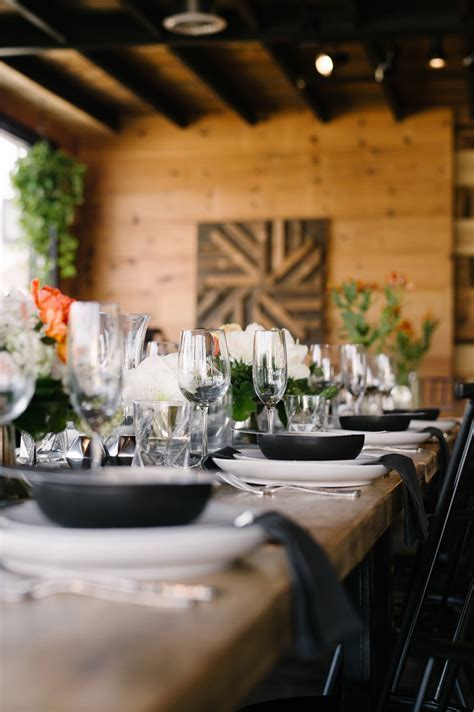 An Urban Rustic Wedding Reception in Virginia Beach