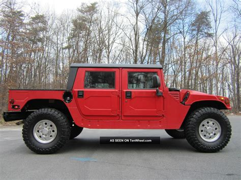 1995 hummer h1 gas engine line x 38 quot tires many