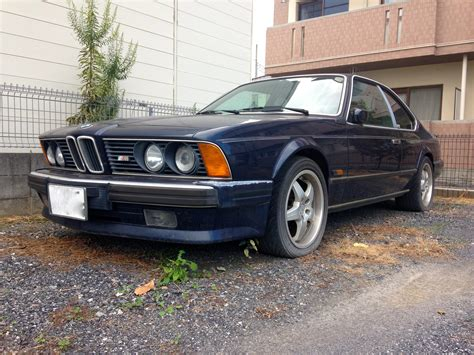 1980s bmw why isn t anyone driving this 1980s bmw 6 series m package