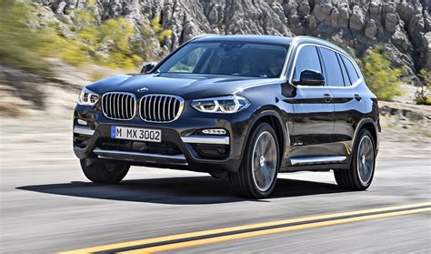 bmw x3 2018 bmw x3 revealed australian launch expected for next