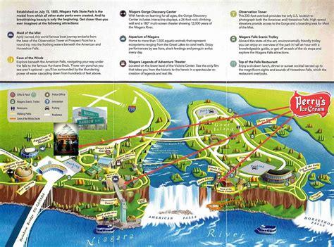 usa map niagara falls perry s guide to niagara falls perry s