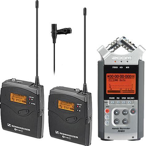 Mic Wireless Sennheiser Evolution Ew 1000 Murah sennheiser ew 112 p g3 lavalier microphone system with zoom h4n