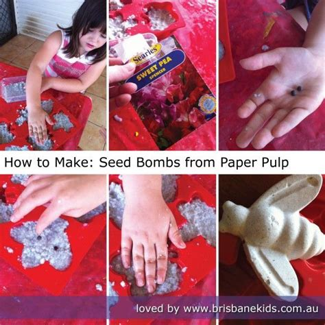 Make Your Own Seed Paper - 1000 images about 1 seed bomb on industrial