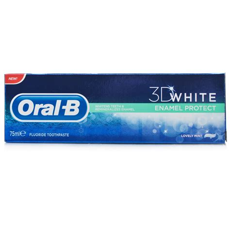 toothpaste whitening oral b 3d whitening enamel protect toothpaste chemist direct