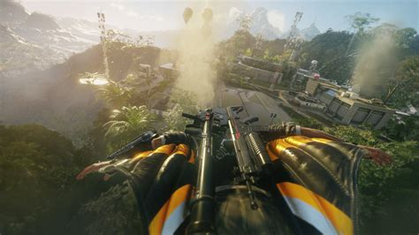 Just For 4 just cause 4 screenshots leaked show new wing suit