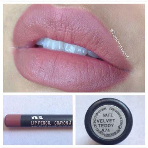 Mac Velvet Teddy Lipstick mac velvet teddy matte lipstick and whirl lip liner i