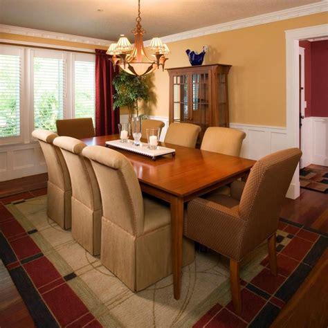 golden tan walls  warm wood furniture create
