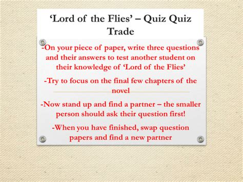lord of the flies themes lesson plans lesson 8 ralph lord of the flies scheme of work by