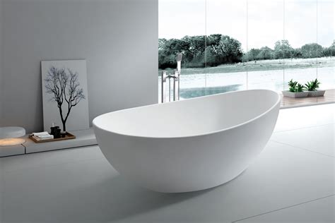 roma solid surface modern bathtub 65 quot
