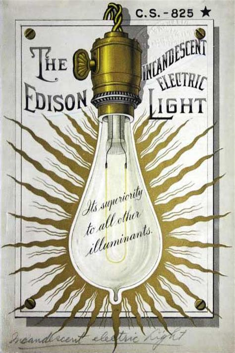 when did edison invent the electric light bulb let there be light bulbs how incandescents became the