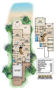 narrow lot lake house plans lake house plan weber design