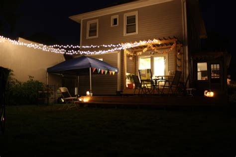 Outdoor Canopy Lighting Backyard Canopy Lights Outdoor Furniture Design And Ideas
