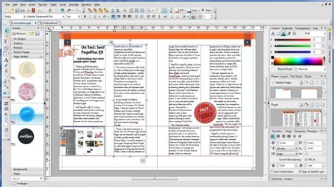 layout plus software serif pageplus x9 review simply brilliant dtp software