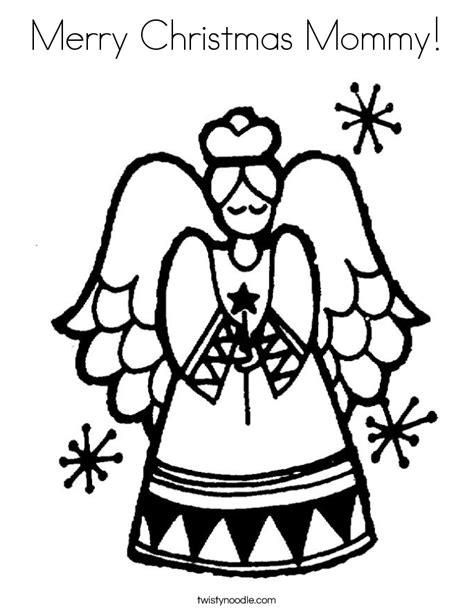 merry christmas mom coloring pages merry christmas mommy coloring page twisty noodle