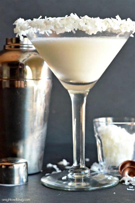 Coconut Cream Martini A Night Owl Blog