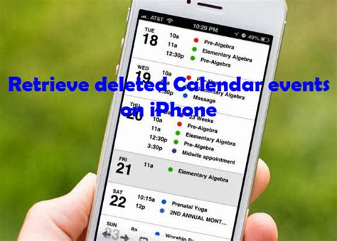 Where Is Calendar Data Stored On Mac Easily Recover Deleted Calendar Events On Iphone