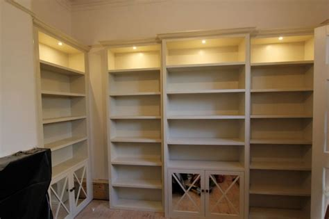 Fitted Bookcase fitted home office furniture bespoke fitted bookcases