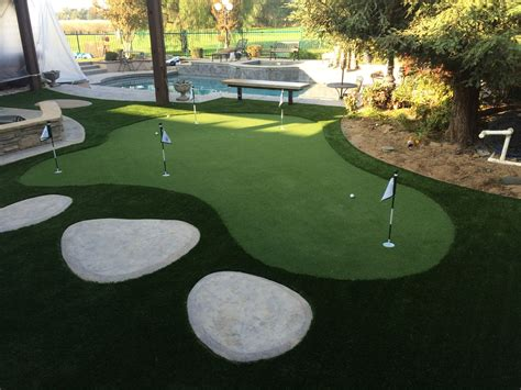 backyard greens backyard putting green kits home interior eksterior