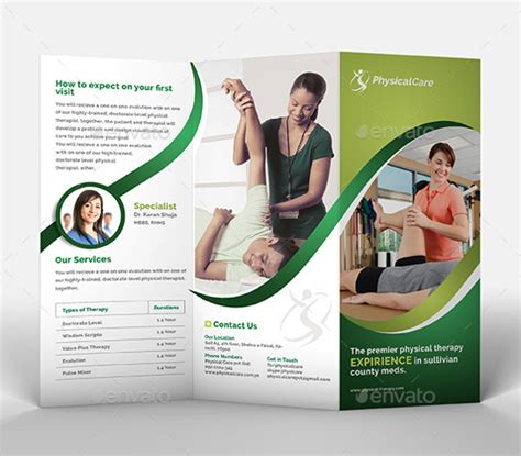health brochure template 20 health brochures psd vector eps