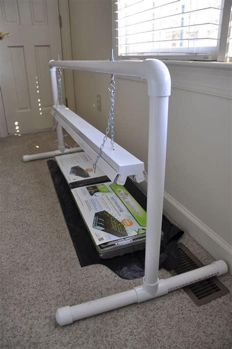 pvc grow light stand kit complete ebay