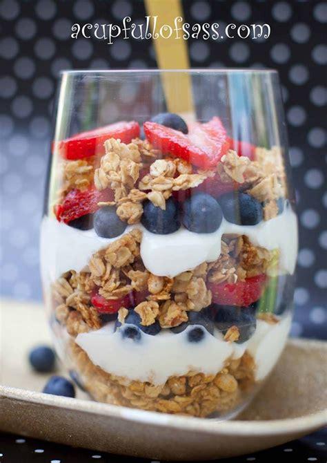 fruit n yogurt parfait fruit and yogurt parfait a cup of sass