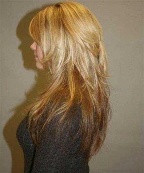 long hair with short layers on crown of head long haircuts with short layers on top haircuts models ideas