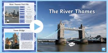 river thames ks2 resources the river thames powerpoint