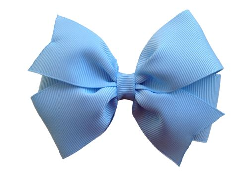 hair bows 4 inch light blue hair bow light blue bow pinwheel bows