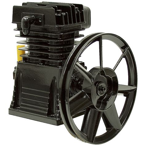 hp  cylinder air compressor pump belt driven