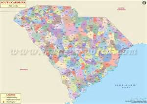 Sc Zip Code Map by South Carolina Zip Codes Map List Counties And Cities