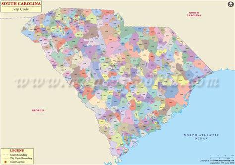 map carolina area codes south carolina zip code map south carolina postal code