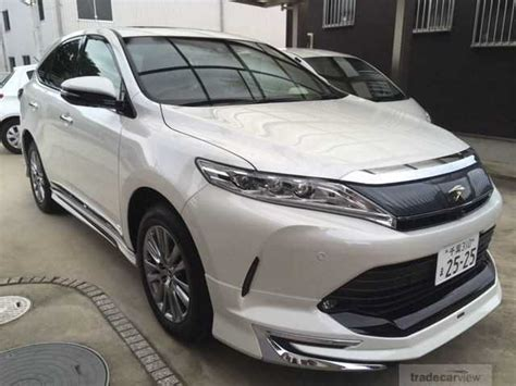 Japan Toyota Harrier Used Toyota Harrier 2017 For Sale Stock Tradecarview