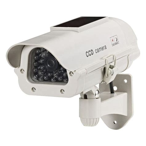 security lights with cameras for the home cop security dummy solar powered camera with led light