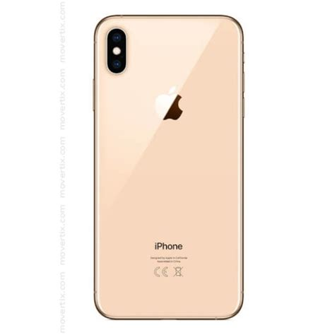 1 iphone xs max apple iphone xs max gold 256gb 0190198784872 movertix mobile phones shop