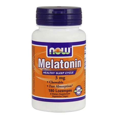 Promo Now Melatonin Liquid Cair On Optimum Nutrition Melatonin now foods melatonin 3 mg 180 lozenges evitamins