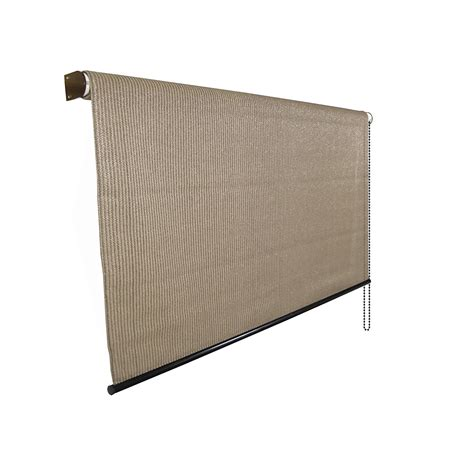 exterior 8 ft x 8 roll up solar window shade patio door